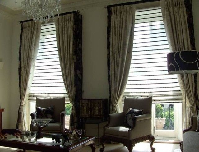cool Curtains For Windows With Blinds