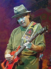Carlos Santana - un guitarrista mexicano