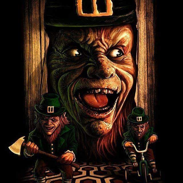 Horror Movie Art : Leprechaun 1993 by Samhain @ deviantart