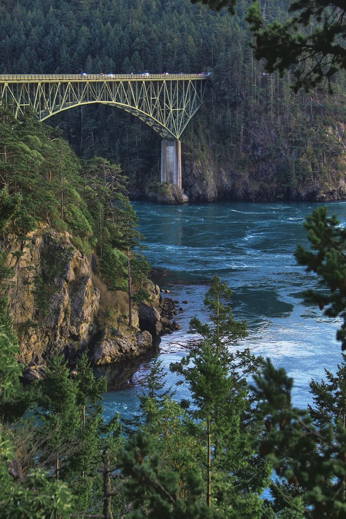 "Deception Pass to Whidbey Island - many hours there fishing in ""the hole"", camping, beach combing, and attending grand council ( campfire)"