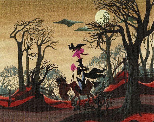Mary Blair: Legend of Sleepy Hollow concept art