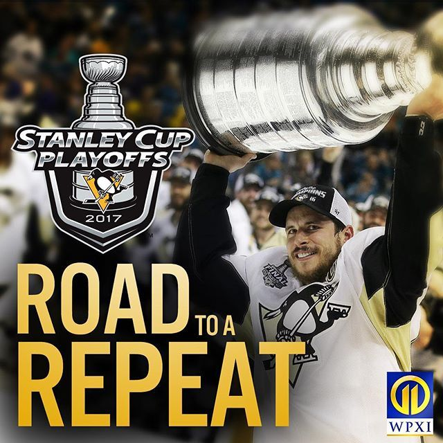 It's a PLAYOFF hockey night in Pittsburgh! The @penguins begin their quest for another cup tonight. #letsgopens #wpxi #stanleycup #nhl #nhlplayoffs #11ontheice