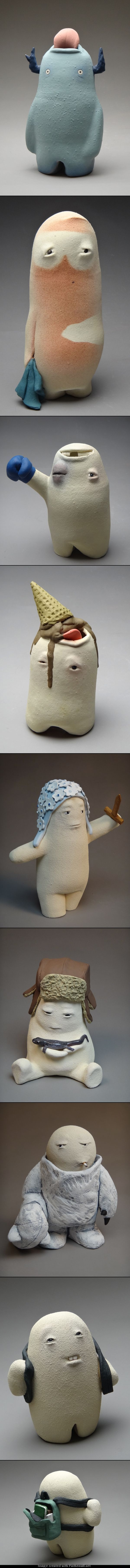 Sculpting by Katherine Moraller