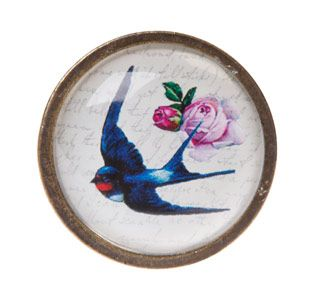 Swallow Drawer Knob   Door & Drawer Knobs   Sass & Belle