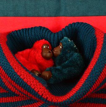 Kipling Monkey Love