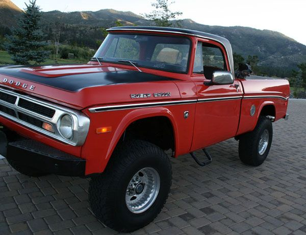 1965 71 Dodge Power Wagon Pickup Truck With Images Pickup