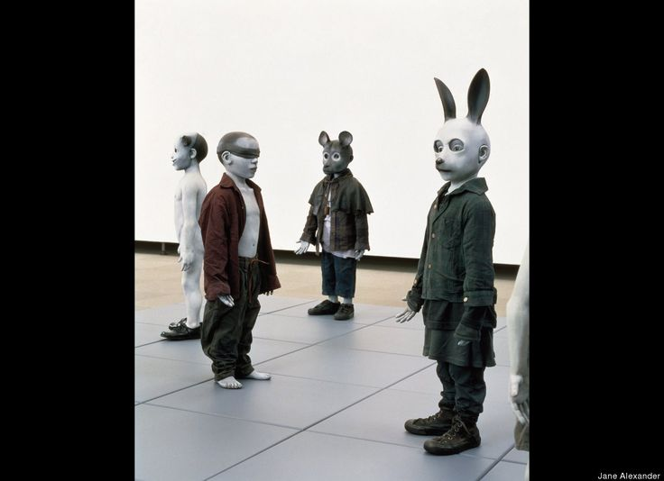 """HuffPost Arts & Culture: South African Artist Jane Alexander's """"Surveys"""" Open at Contemporary Art Museum In Houston"""