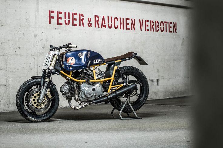 Ducati Pantah 500 By Hermann Köpf Of Craftrad Magazine. Via BikeExif.