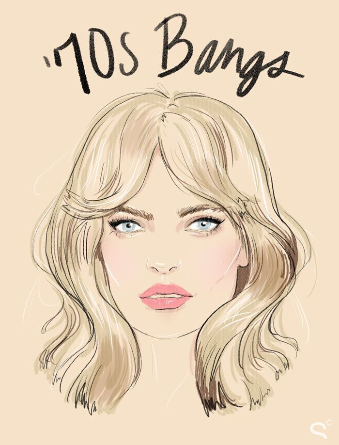 70s bangs1 Bang Gangs: How the Coolest Girls Wear Bangs