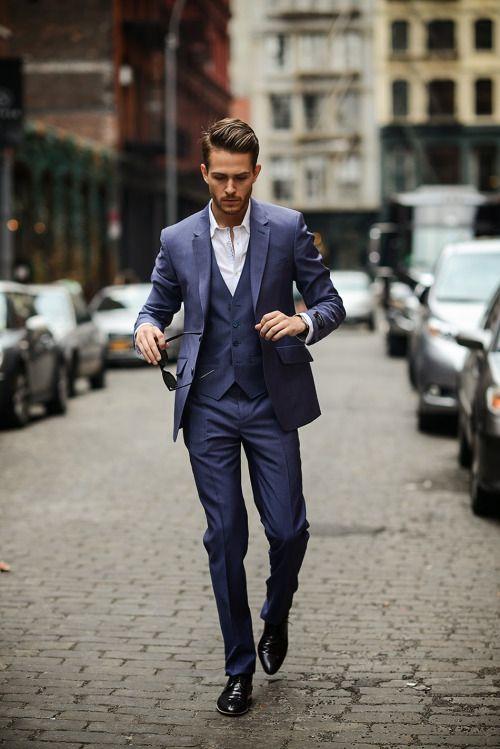 2014-05-10のファッションスナップ。着用アイテム・キーワードはスリーピーススーツ,etc. 理想の着こなし・コーディネートがきっとここに。| No:43421