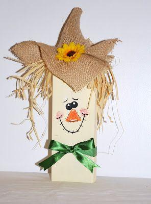 Cute 2x4 Scarecrow :)