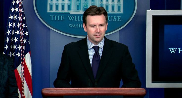 White House press secretary Josh Earnest -   White House Not On Board With Reinstating Glass-Steagall  t the Friday press briefing, White House press secretary Josh Earnest said the president was still focused on implementing the Dodd-Frank Wall Street Reform that passed in 2010, effectively distancing the administration from backing the bipartisan effort to reinstate Glass-Steagall.