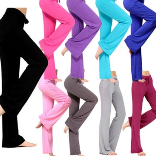 XXXL soft pants square dance pants fitness sport trousers - fashional women yoga pants