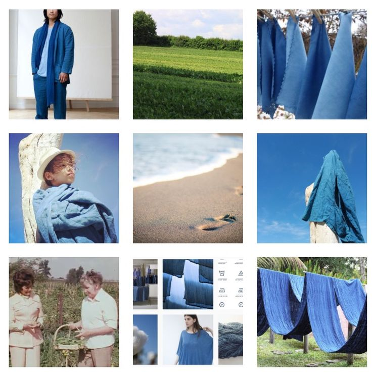 ///////  Are you an Instagrammer?  ///////  Follow Bleu de Cocagne and lets fall in love with Blue together!    ///////  instagram.com/bleudecocagne      ___________________________________________________________  #bleudecocagne #woad #natural #blue #pastel #socialmedia #instagram