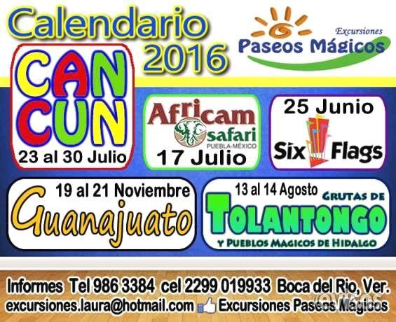 Excursión a Grutas de Tolantongo y  Pueblos Mágicos de Hidalgo 13 al 14 Agosto 2016  Excursión a Grutas de Tolantongo y  Pueblos Mágicos de Hidalgo 13 al 14 Agosto 2016   Salida: ...  http://veracruz-city.evisos.com.mx/excursion-a-grutas-de-tolantongo-y-pueblos-magicos-de-hidalgo-13-al-14-agosto-2016-id-618444