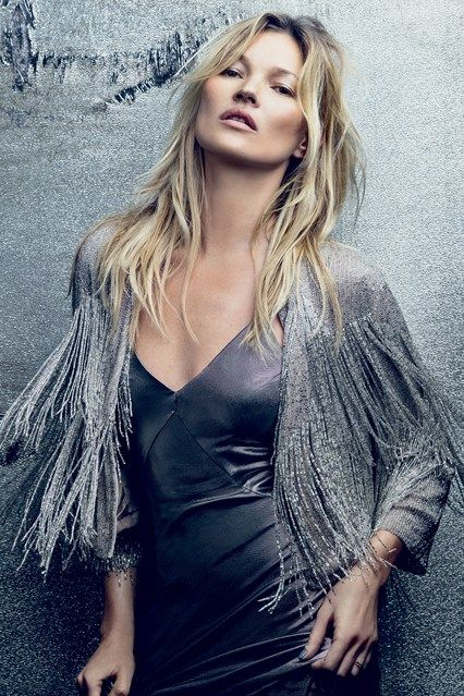 From elfin crops to her ubiquitous loose waves, see Kate Moss's most memorable hair looks