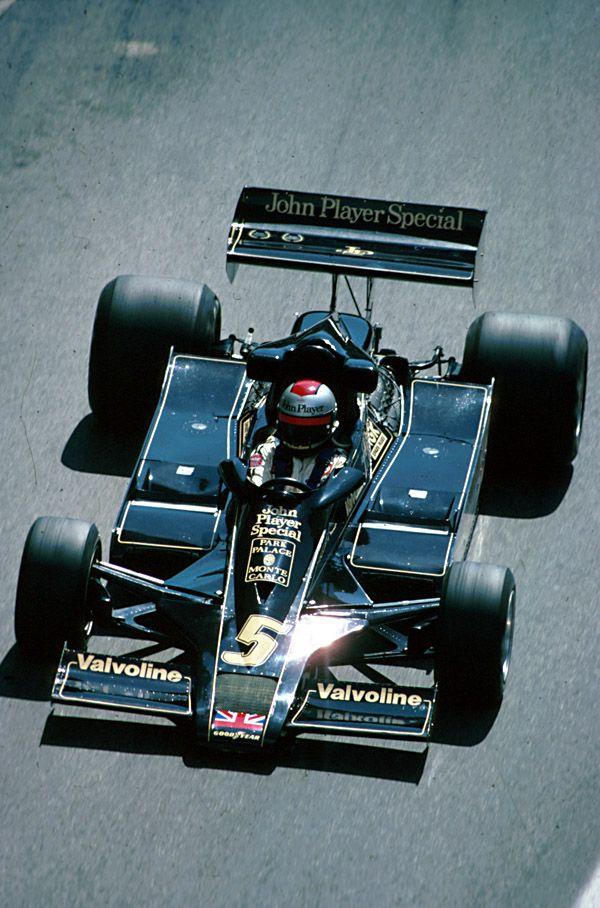 Mario Andretti Lotus - Ford GP Monaco 1978