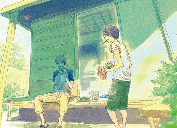 Hidamari ga Kikoeru Furukawa Makoto x Enoki Junya