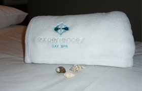 Experience Day Spa    Complimentary child minding Mondays & Tuesdays!  Brilliant!!!