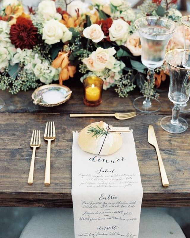 """""""Simply exquisite, this elegant #Autumn celebration in Nashville is an absolute display of timeless sophistication. We specifically love the fusion of opulent #floral designs and low-key place setting. 😍 • • • 📸 @austingros #weddinginspiration #nashville #tennessee #calligraphy #destinationwedding #travel #bride #weddings #glam #style #styleinspiration #thatsdarling  #weddingday #inspiration #stylediaries #weddingphotography #artofvisuals #weddingphotographer #burlapandsilk 👌 Explore our…"""