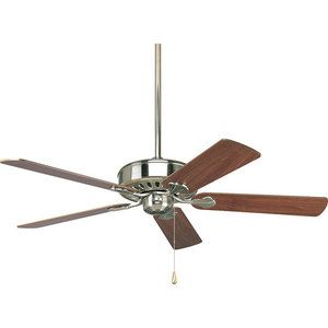 Master Bed PP250309 3-Speed Reversible Large Fan (52'' to 59'') Ceiling Fan - Brushed Nickel