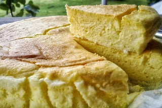 pastel de queixo xaponés