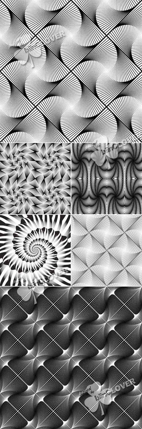 Закрученный, спиральный геометрический фон - Twirl geometric pattern