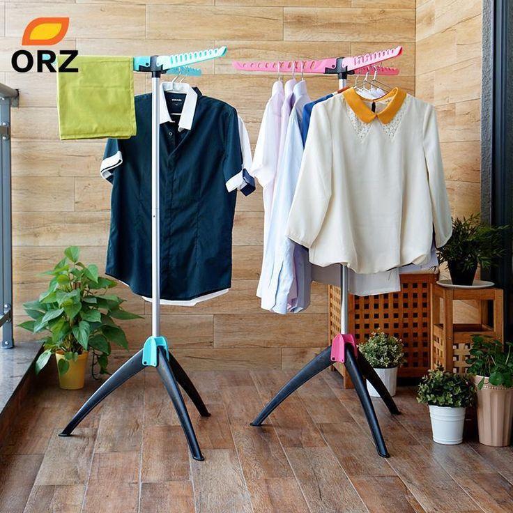 Magic Clothes Drying Rack Clothing Hanger Organizer Coat Stand Iron Rack Laundry #MagicClothesChina #Folding