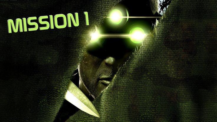 Tom Clancy's Splinter Cell 1 - Mission 1 - Walkthrough