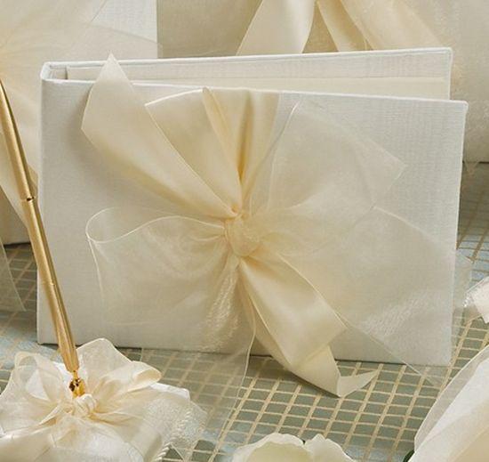 Tres Beau Wedding Guest Book | Wedding Guest Boosk | Guest Book Bow $35.95
