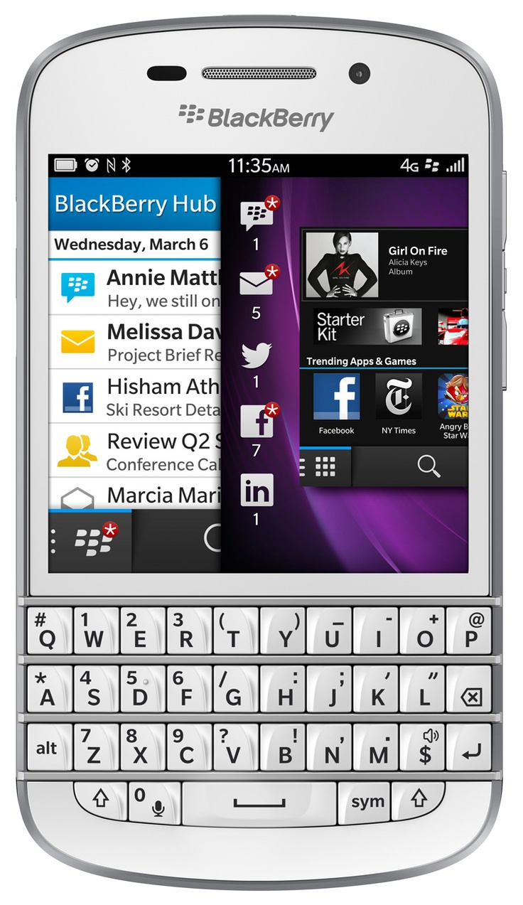 Ok so I said I wanted the Z10 but I was just reminded that I can't use all touch but the BlackBerry Q10 is just as pretty =) I hope T-Mobile gets it in white..