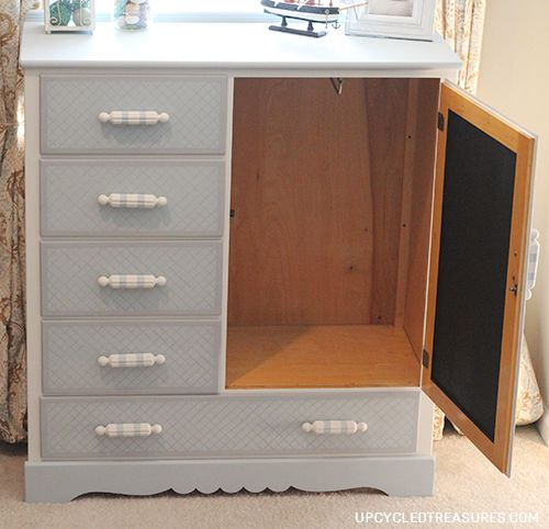 kids-dresser-with-hidden-chalkboard-makeover