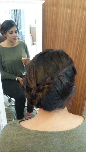 Bridesmaids Hair and makeup by ruby b