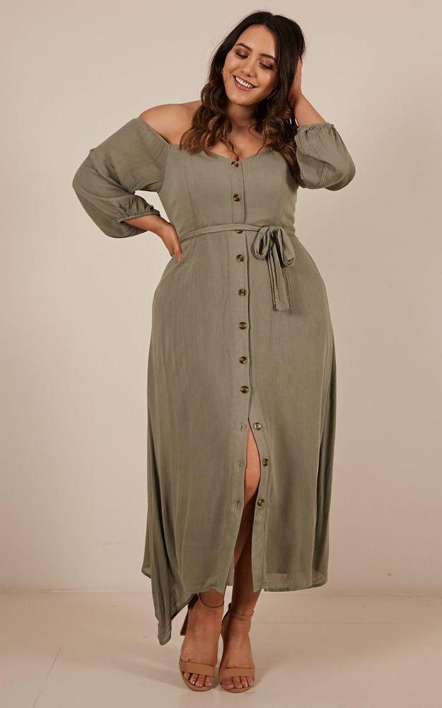 fe5e7ecf8f40 Sorrento Dreaming dress in khaki