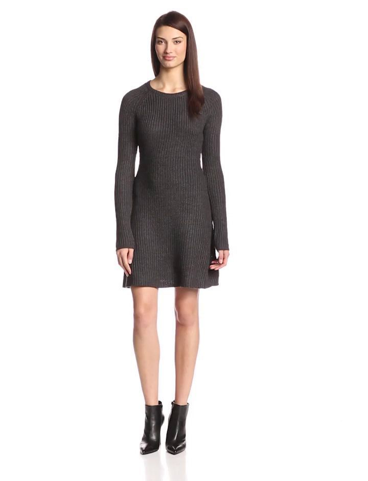 Women Fashion Casual Warm Slim Long Sleeve Mini Dress New