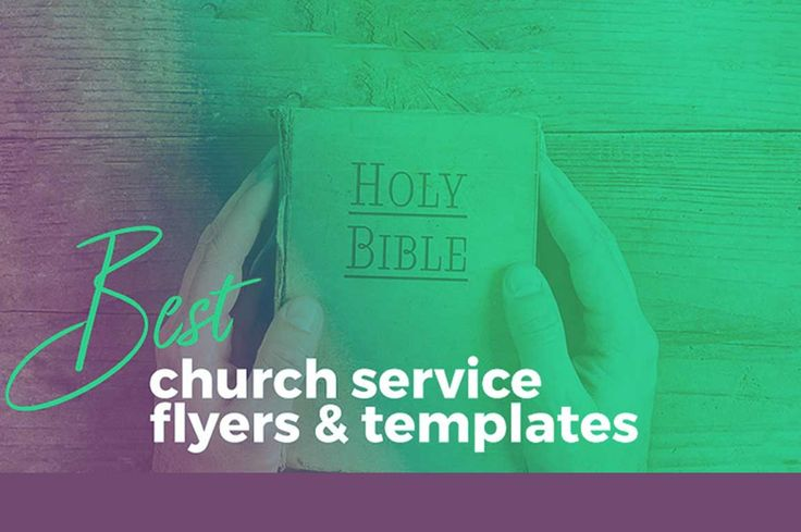 30 Best Church Flyer, Poster, Templates curated from around the web. Spread the word about your church events with a beautiful church flyer and engage the