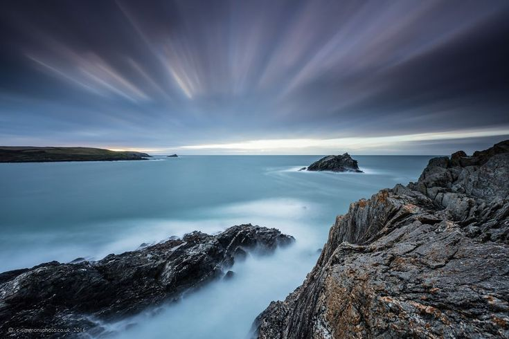 Ethereal East Pentire by Chris Simmons Photography