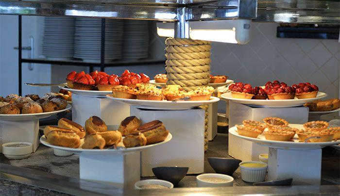 buffet desserts carlton beach restaurant