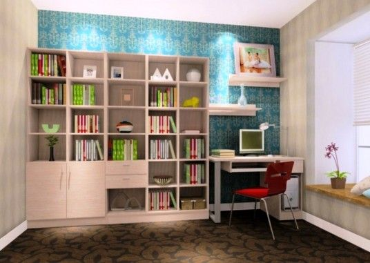 Elegant Simple Study Room Design