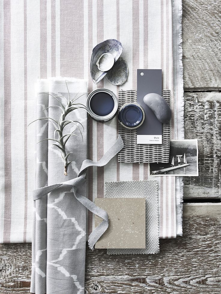 neutral stripes and loose patterns, light and dark colors, natural wood, black and white