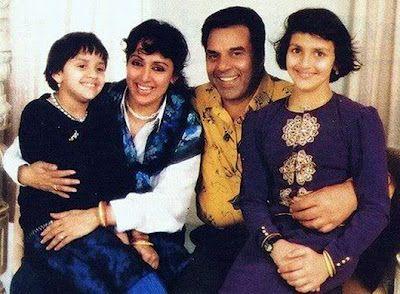 Hema Malini Family