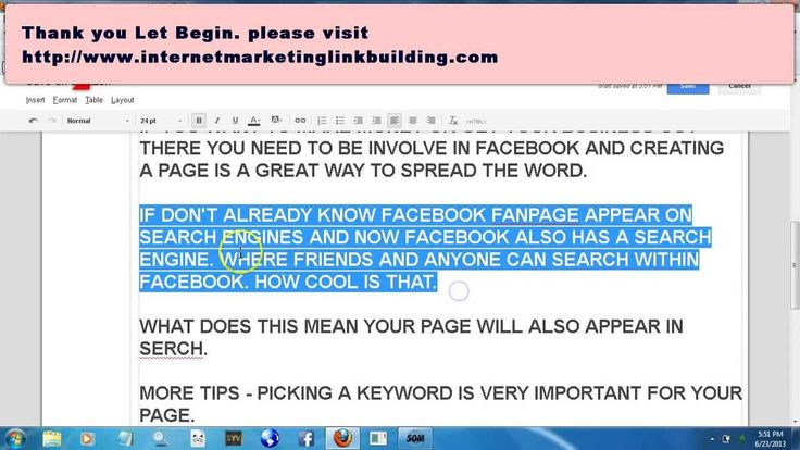 how to create page on facebook
