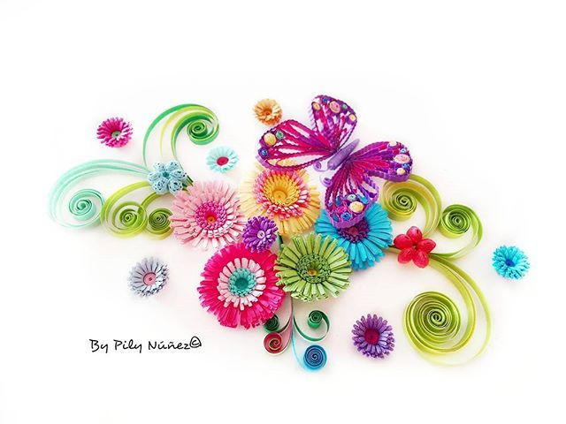By Pily Núñez Quilling www.instagram.com/pilyquilling
