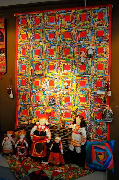 В Рязани открылась выставка женского клуба любительниц лоскутного шитья «Волшебный лоскуток» - Новости - Информационное агентство РИА МОДА