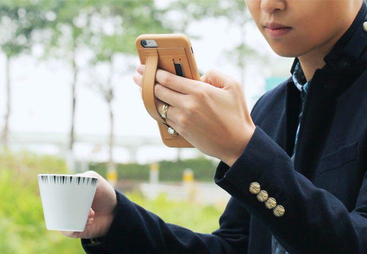 TUNEWEAR FINGER SLIP for iPhone 6 Plus