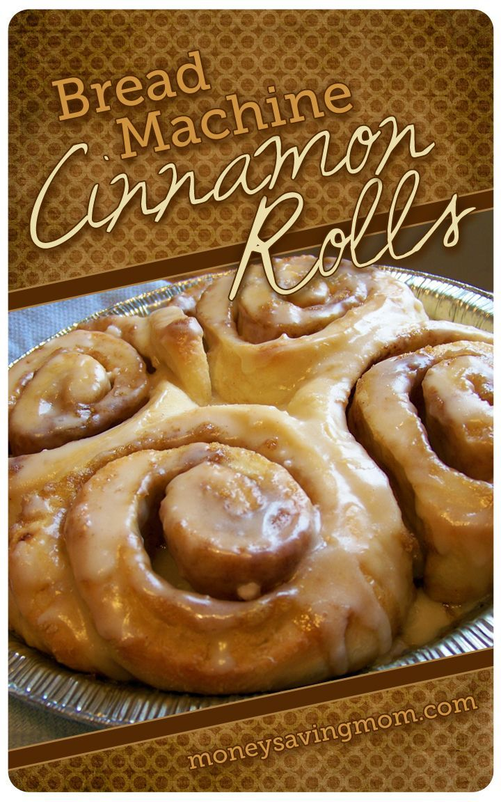 Looking for an amazingly delicious and practically fail-proof Cinnamon Roll recipe? Try these insanely delicious and incredibly easy Bread Machine Cinnamon Rolls!
