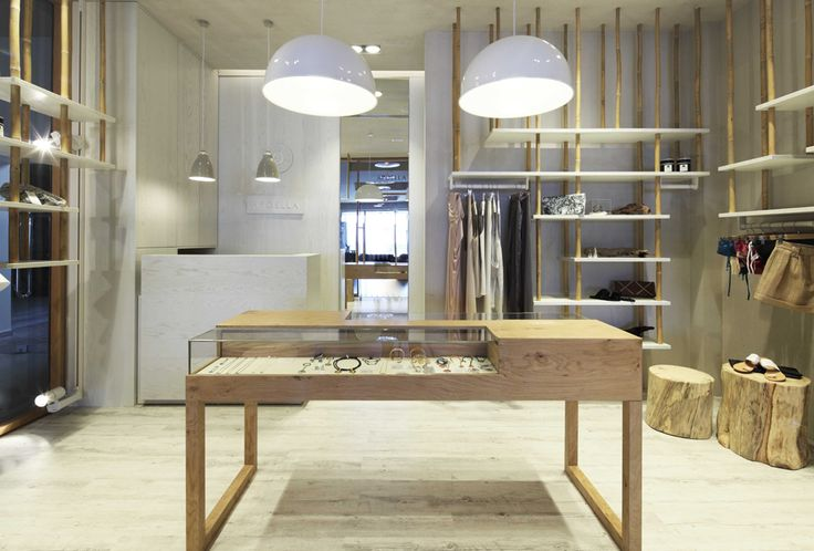 APOELLA Concept Store at Daios Cove, Crete by APK Architects