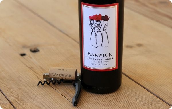 Warwick wines. South Africa, Stellenbosch.