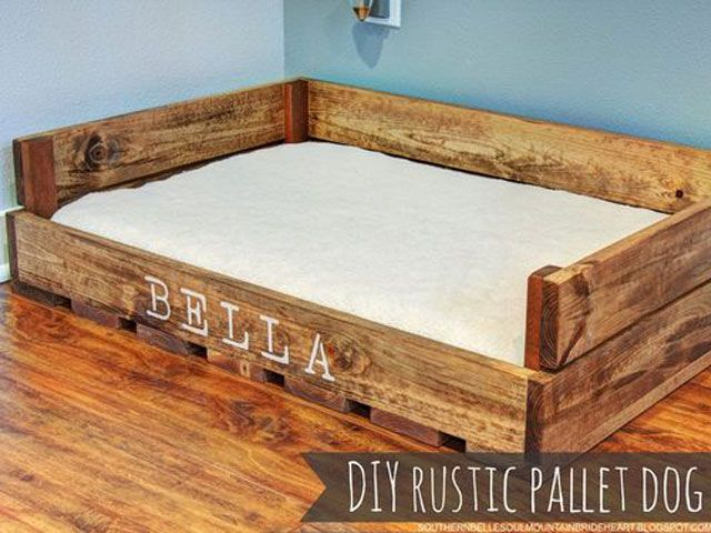 A dog must be comfortable in his bed and be able to sleep well in it. If you want to offer something special, just build it yourself. Here 13 …