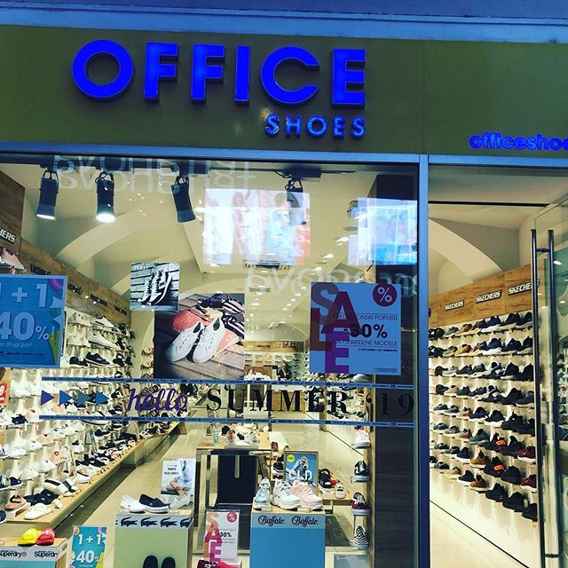 Advertising Done Right A Sports Shoe Store Called Office Shoes Zagreb Croatia Office Shoes Shoe Store Sport Shoes